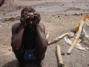 Estrazione del sale da vulcano inattivo - Etiopia 2009