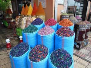 Spezie nel suk di Marrakech - Marocco 2014