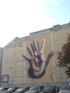 Incontro di mani - Berlino 2015
